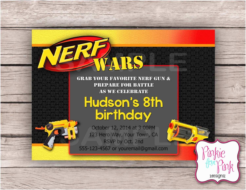 Nerf Birthday Party  Nerf Gun Birthday Party
