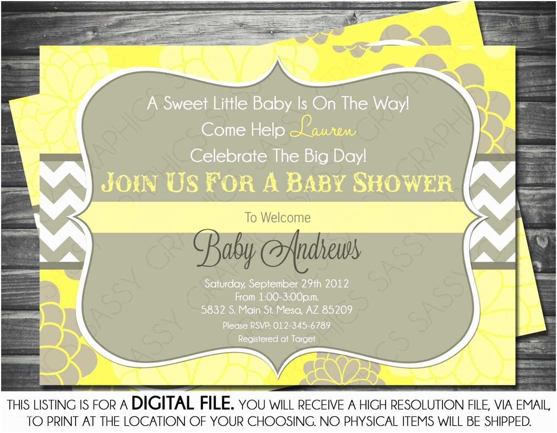 Neutral Baby Shower Invitations Baby Shower Invitations Gender Neutral