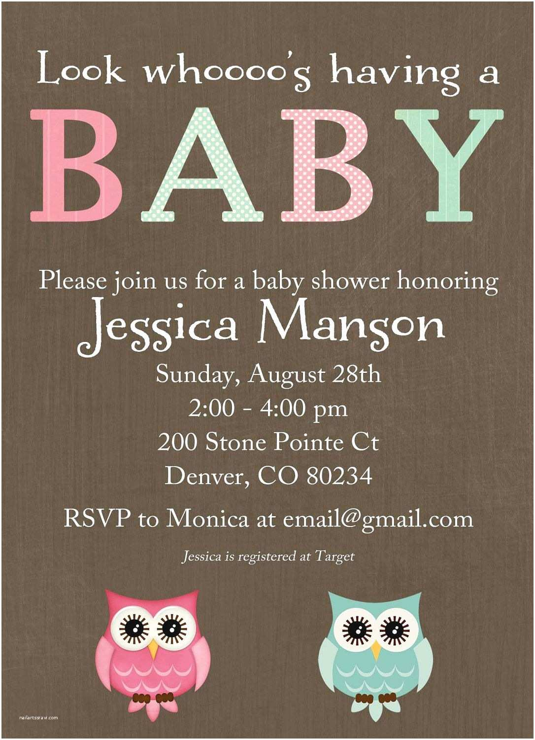 Neutral Baby Shower Invitations Neutral Baby Shower Invitations