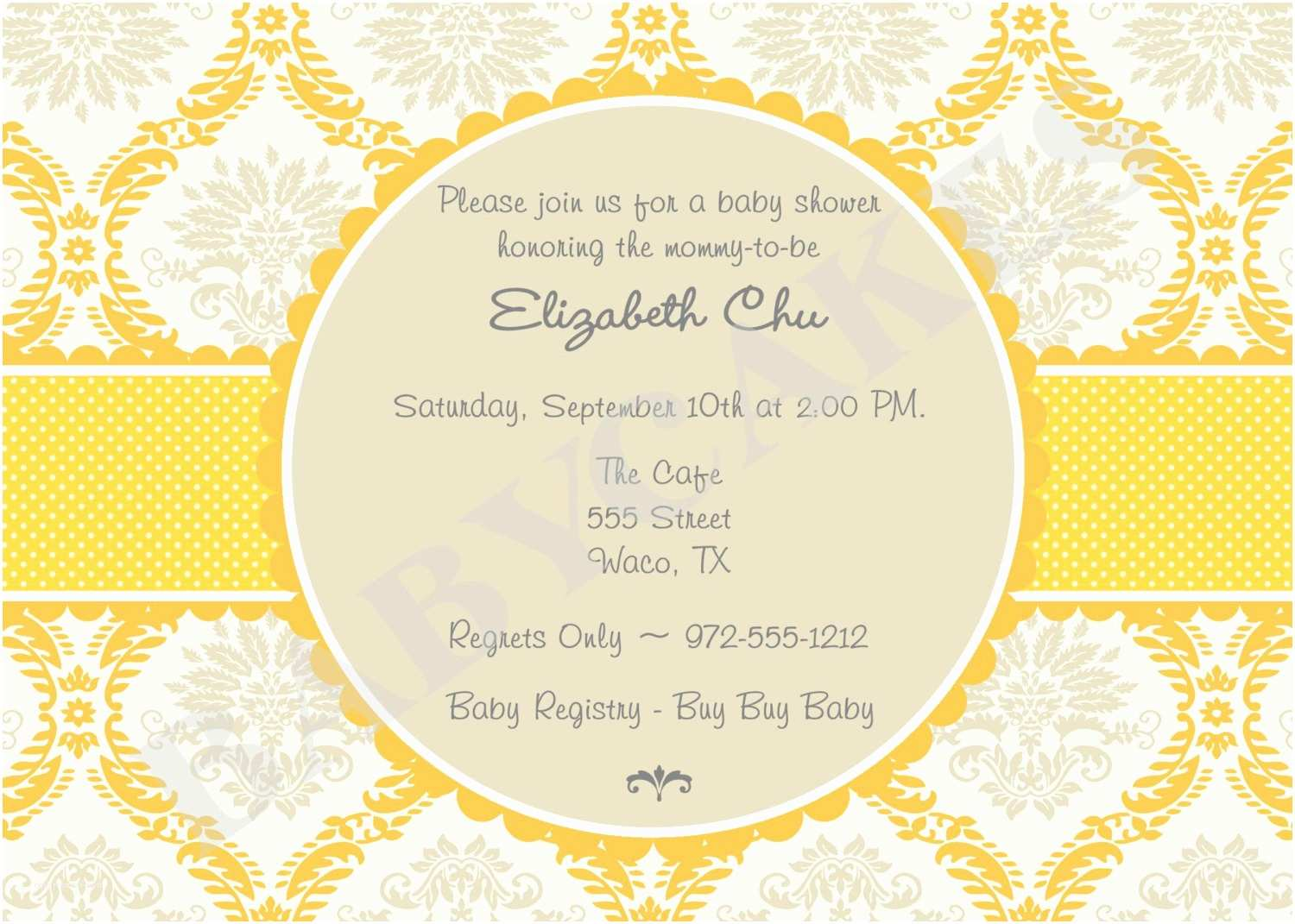 Neutral Baby Shower Invitations Template Gender Neutral Baby Shower Invitations