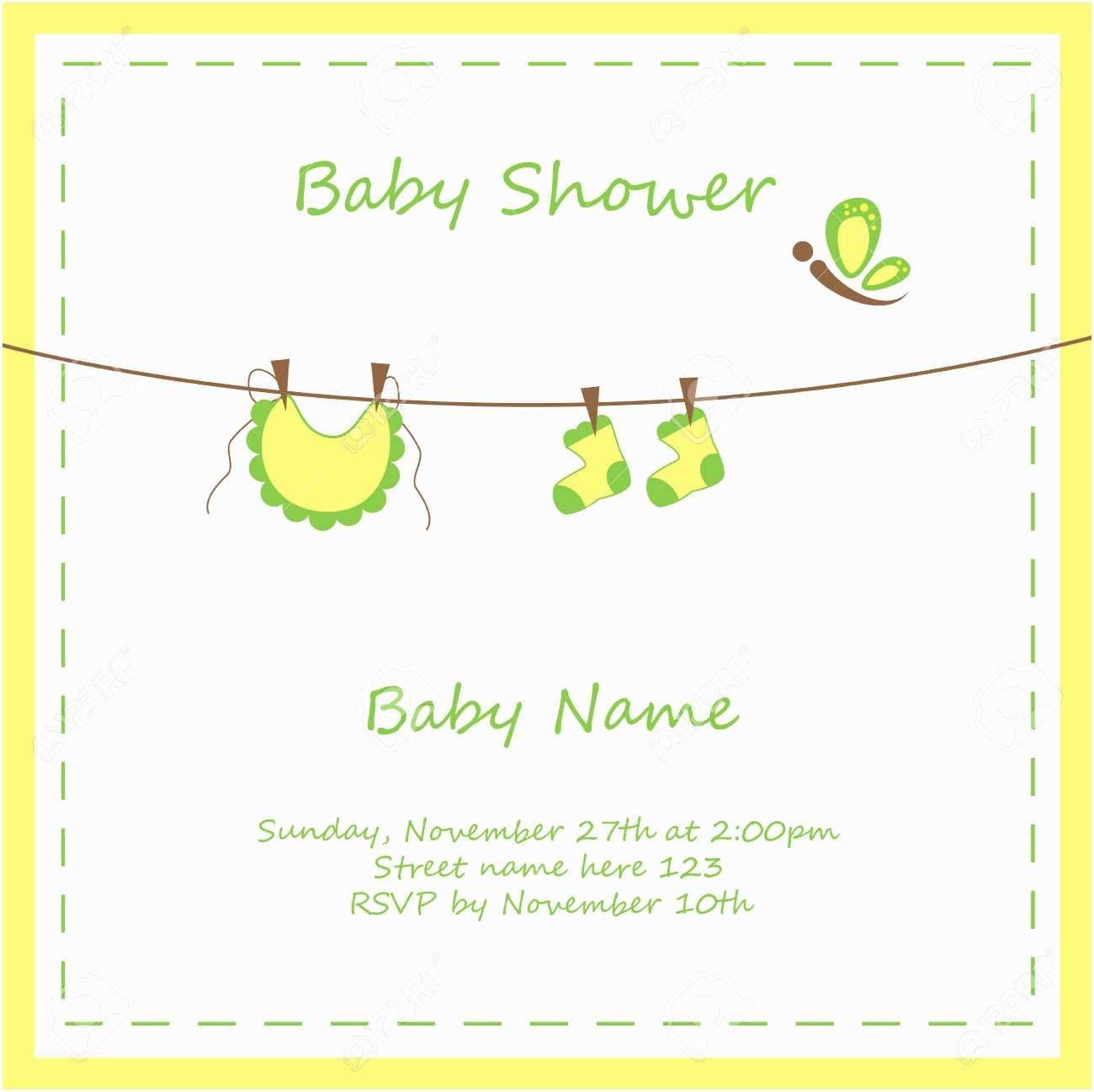 Neutral Baby Shower Invitations Template Neutral Baby Shower Invitations Free Sestern
