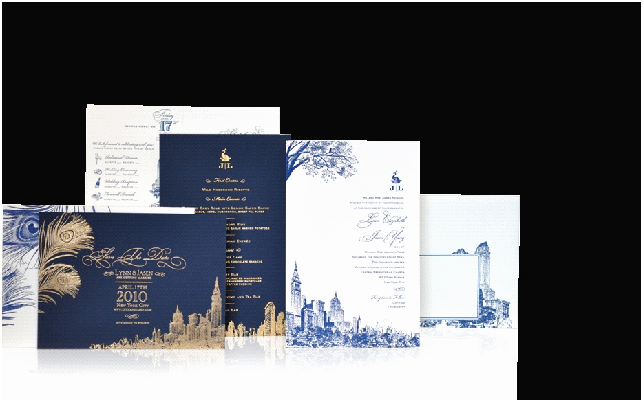 New Wedding Invitations Gotham