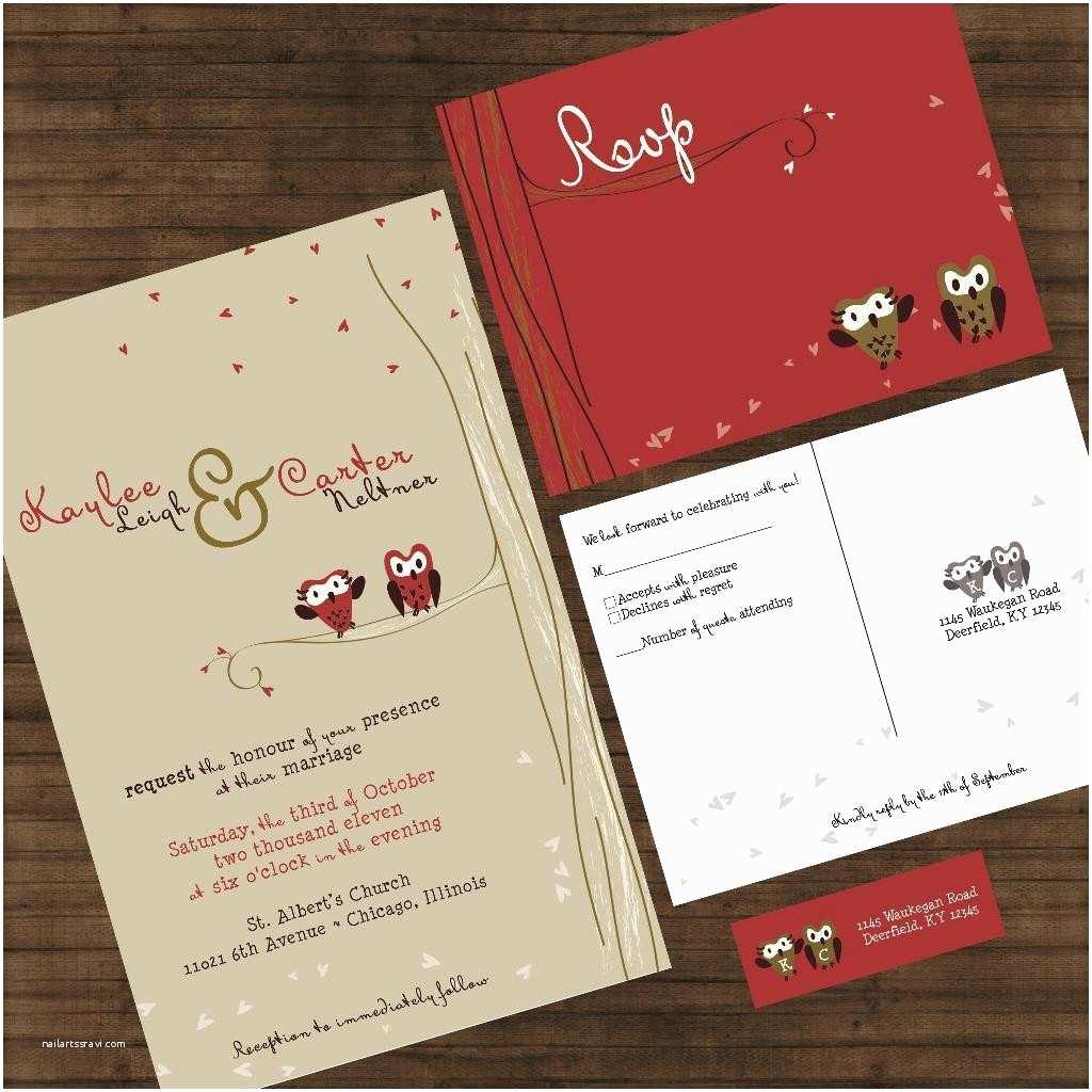 New Wedding Invitations Marvelous Owl Wedding Invitations