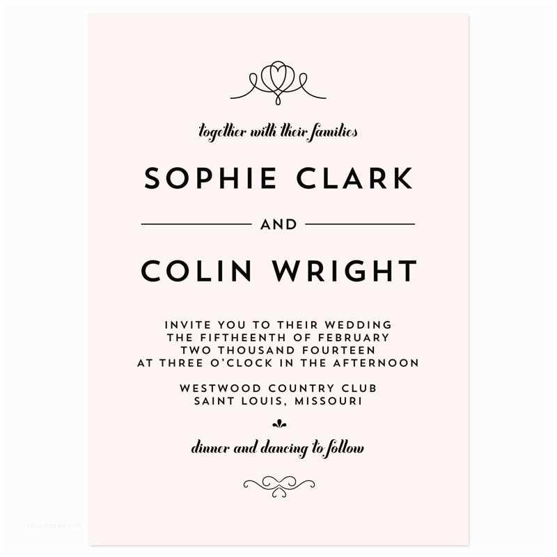 New Wedding Invitations Wording Wedding Invitations
