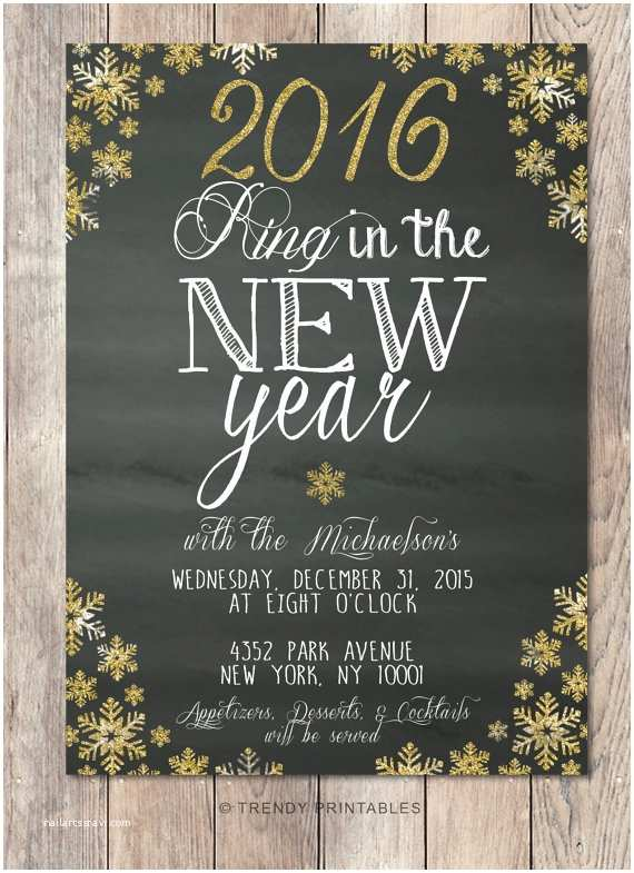New Year Party Invitation New Years Party Invitations Nailartssravi