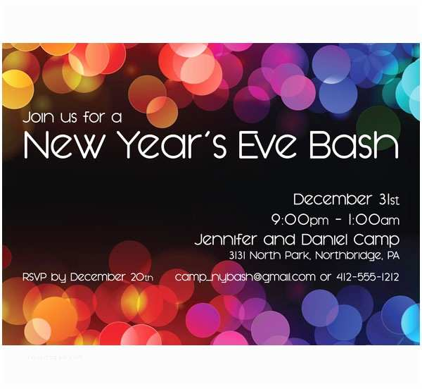 new year party invitation new years party invitations