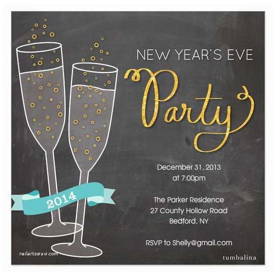 New Year Party Invitation Wording New Years Party Invitations