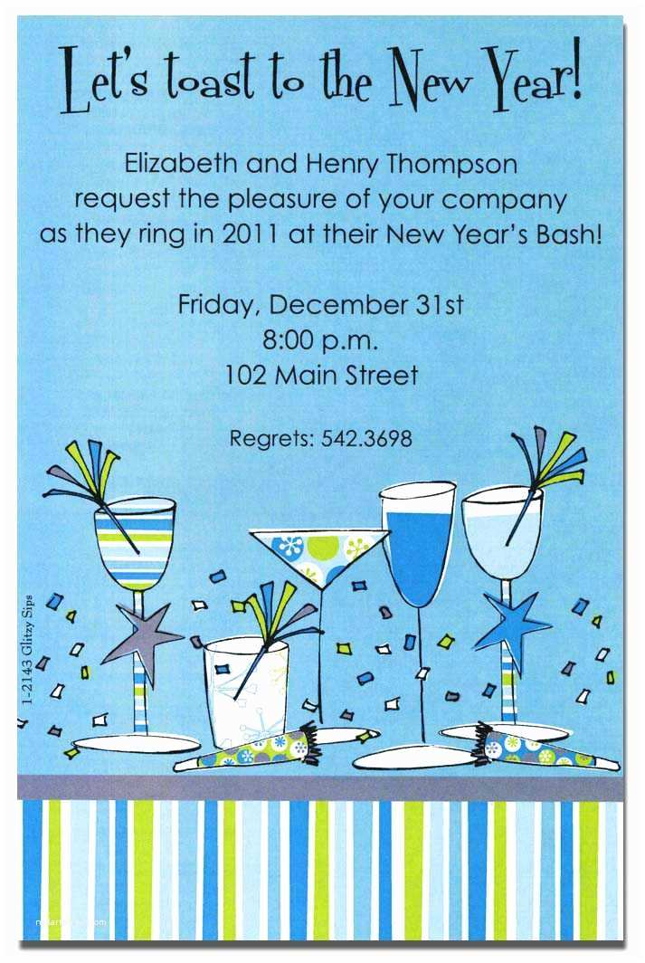 New Years Eve Party Invitations New Years Eve Party Invitation Wording