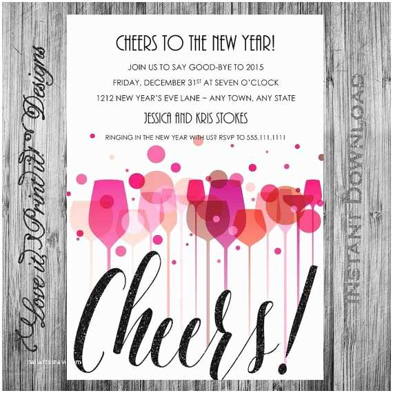 New Years Eve Wedding Invitation Ideas 1000 Ideas About New Years Eve Invitations On Pinterest