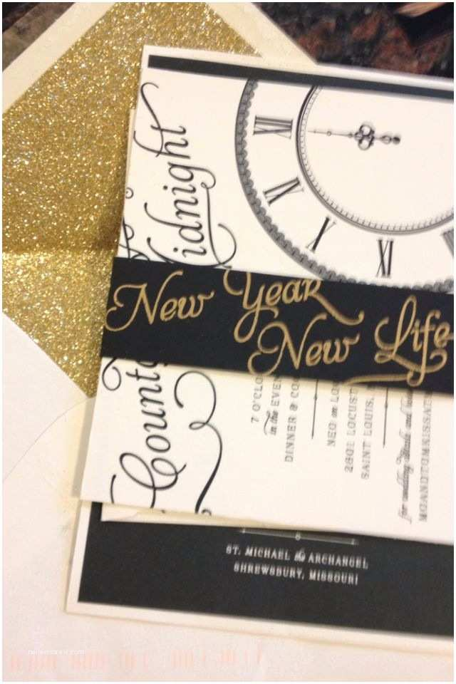 New Years Eve Wedding Invitation Ideas 25 Best Ideas About New Years Wedding On Pinterest