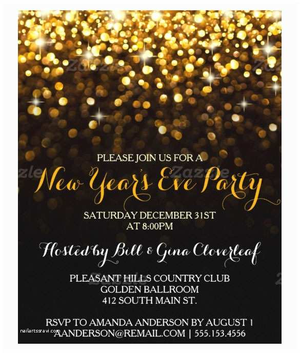 New Years Eve Wedding Invitation Ideas New Years Party Invitations – Gangcraft