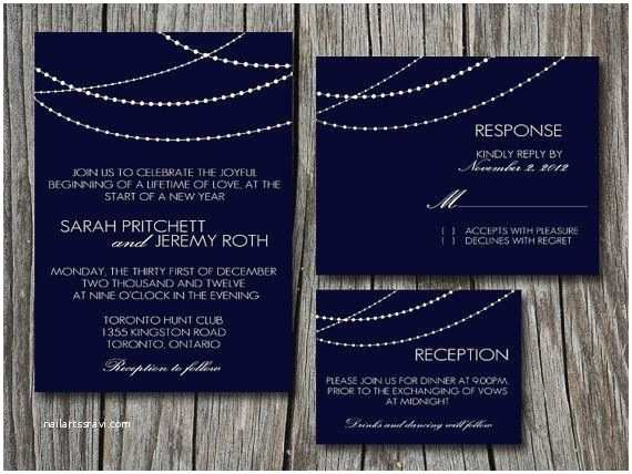 New Years Eve Wedding Invitation Ideas New Years Wedding Invitation Future Weddings