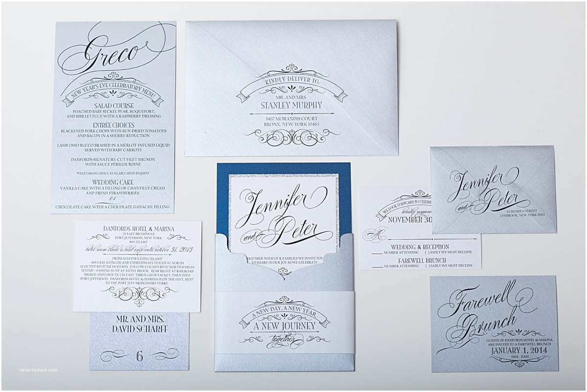 New Years Eve Wedding Invitations New Years Eve Wedding Ideas Gourmet Invitations