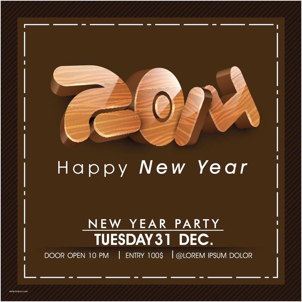 New Years Party Invitations 2014 New Year S Eve Party Invitations Cards • Elsoar