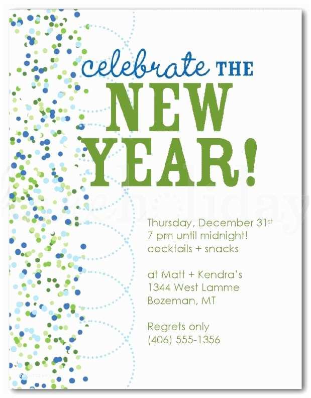 New Years Party Invitations New Years Eve Party Invitation Template – orderecigsjuicefo
