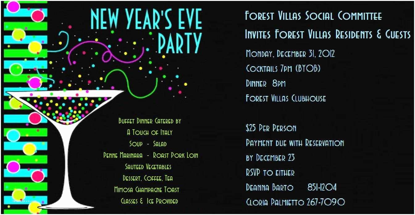 new years party invitations notes from the neighborhood new year s eve party invitation