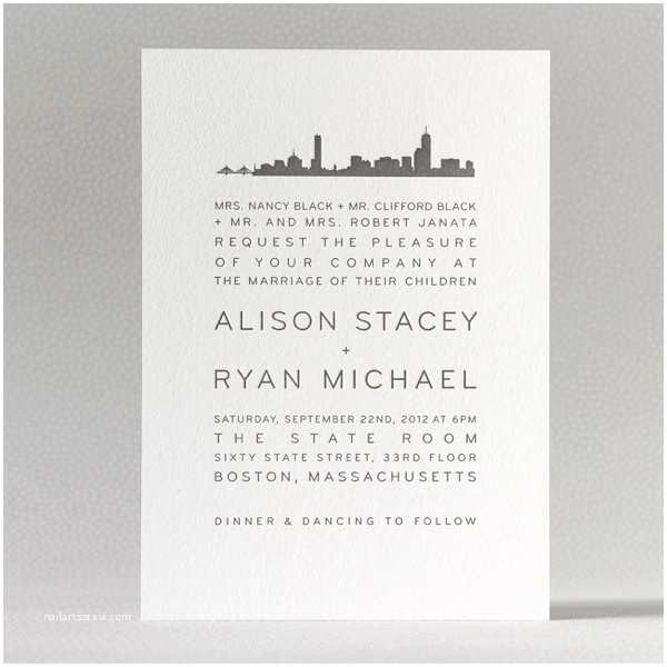 New York Wedding Invitations 22 Best Images About Nyc theme Invites On Pinterest
