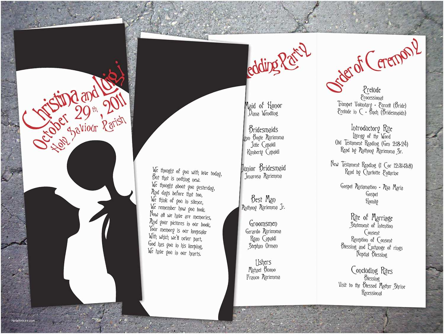 Nightmare before Christmas Wedding Invitations 10 Nightmare before Christmas Inspired Wedding by Papercrew