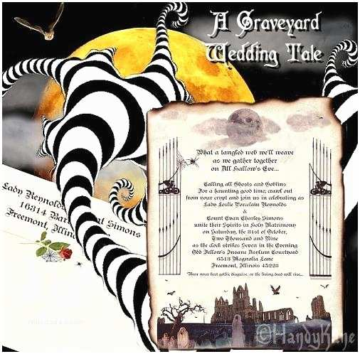 Nightmare before Christmas Wedding Invitations Nightmare before Christmas Wedding Invitations Template