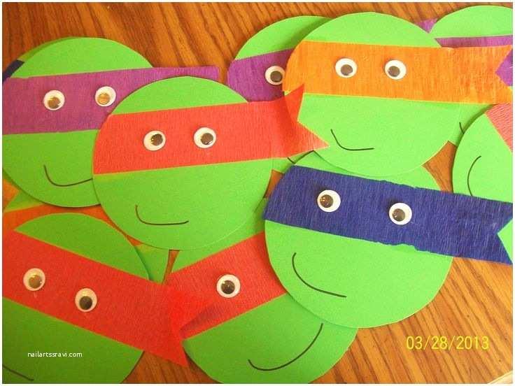 Ninja Turtle Birthday Invitations 7 Easy Diy Teenage Mutant Ninja Turtles Party Ideas