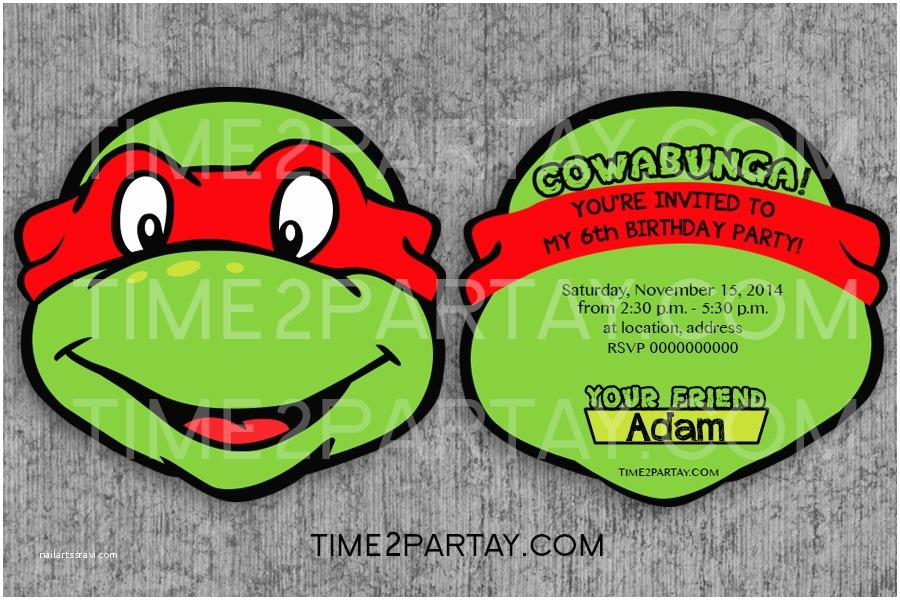 teenage mutant ninja turtles tmnt themed birthday items