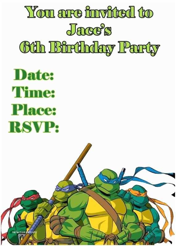 Ninja  Party Invitations 72 Best Images About Teenage Mutant Ninja