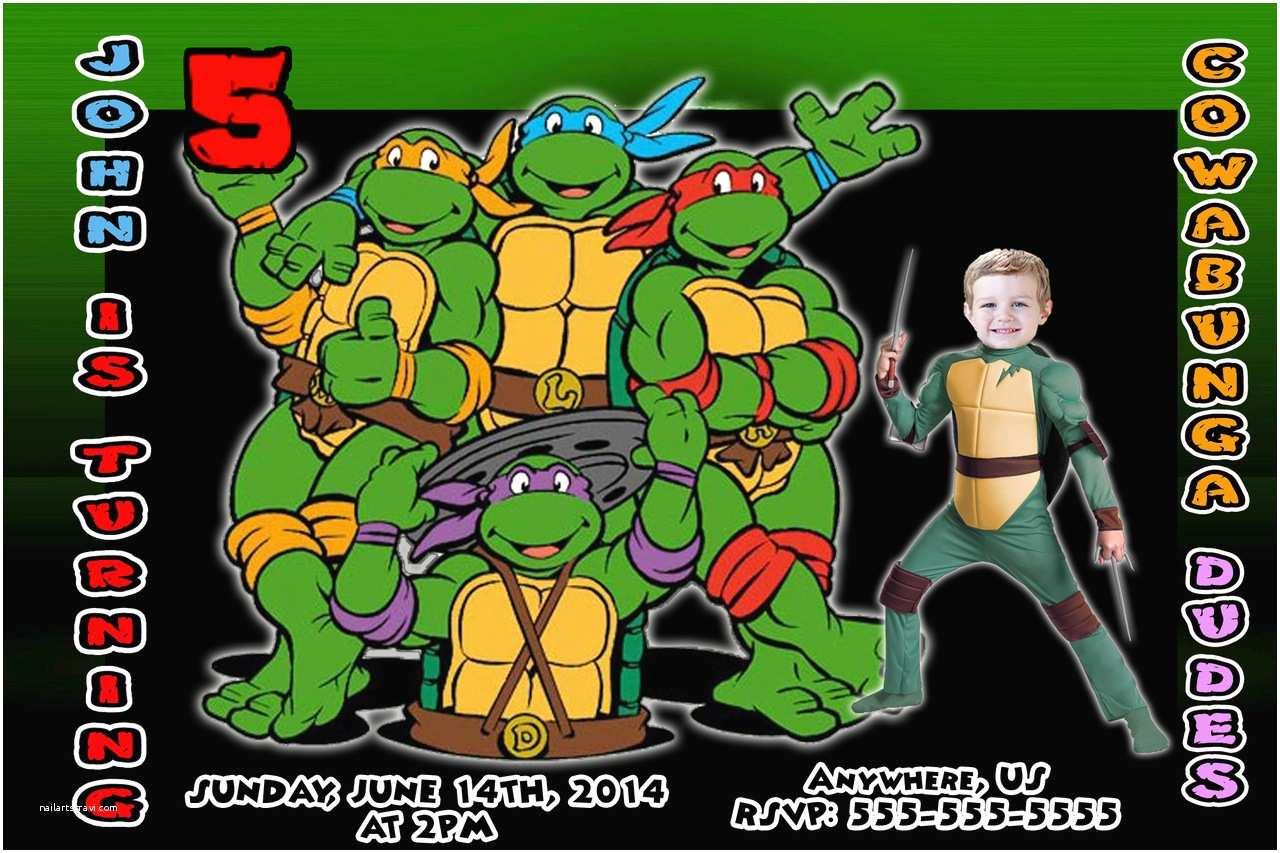 Ninja Turtle Party  Free Printable Ninja Turtle Birthday Party
