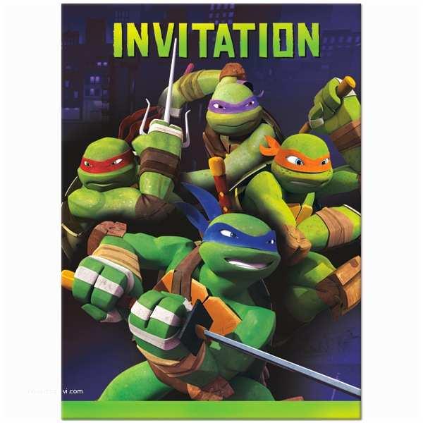 Ninja Turtle Party Invitations Teenage Mutant Ninja Turtle Birthday Invitations Template