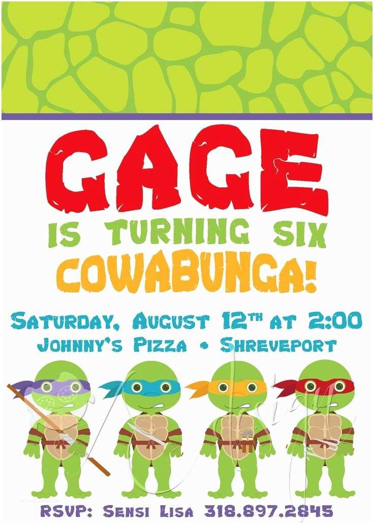 Ninja Turtle Party S Teenage Mutant Ninja Turtle Birthday Party