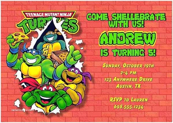 Ninja Turtle Party  Teenage Mutant Ninja Turtles Birthday Party