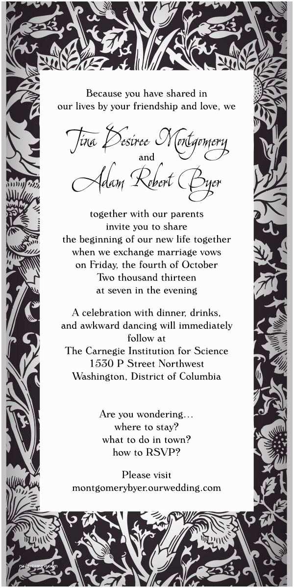Non Traditional Wedding Invitation Wording Magnificent Non Traditional Wedding Invitation Wording