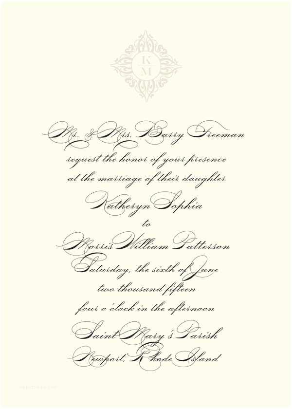 Non Traditional Wedding Invitation Wording Traditional Wedding Invitation Wording