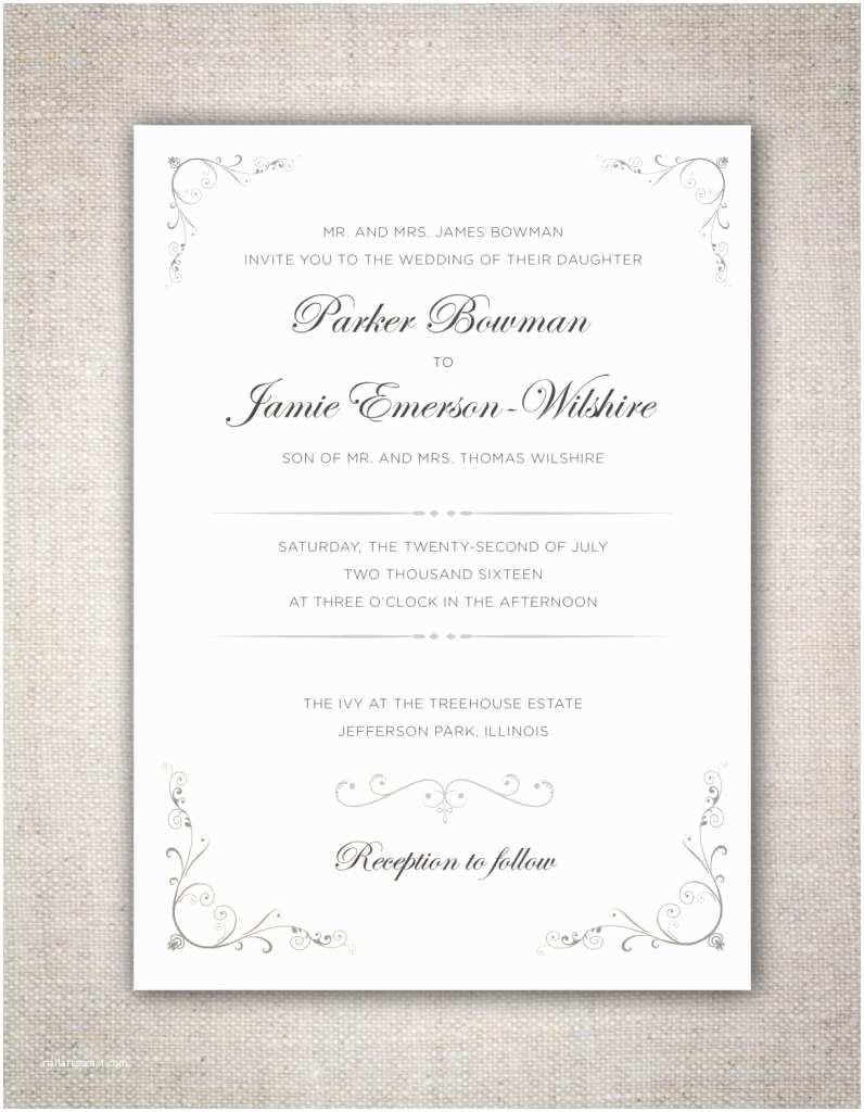 Non Traditional Wedding Invitations Non Traditional Wedding Invitation Wording Uk Matik for