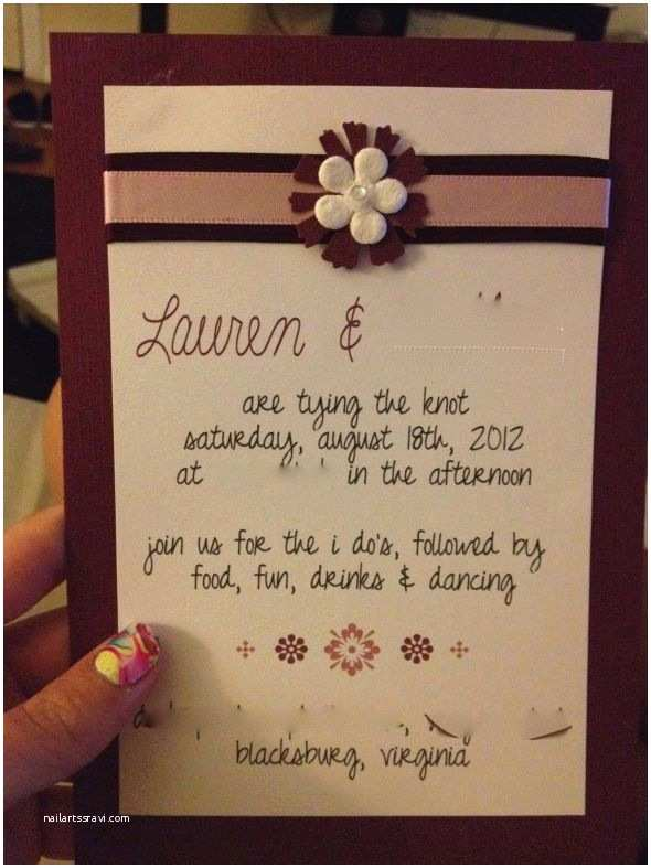 share your non traditional wording on your invites