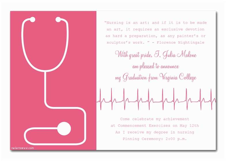 Nursing school graduation invitations medical school graduation nursing school graduation invitations medical success graduation announcements by invitation filmwisefo