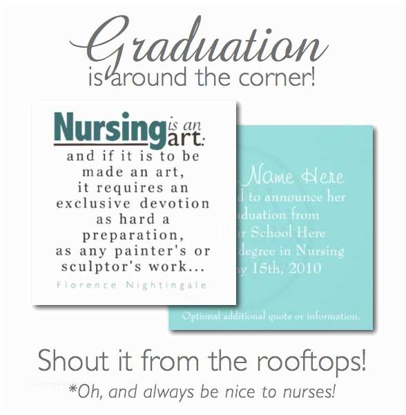Nursing School Graduation Invitations Nursing School Graduation Announcements On Sale Kelly