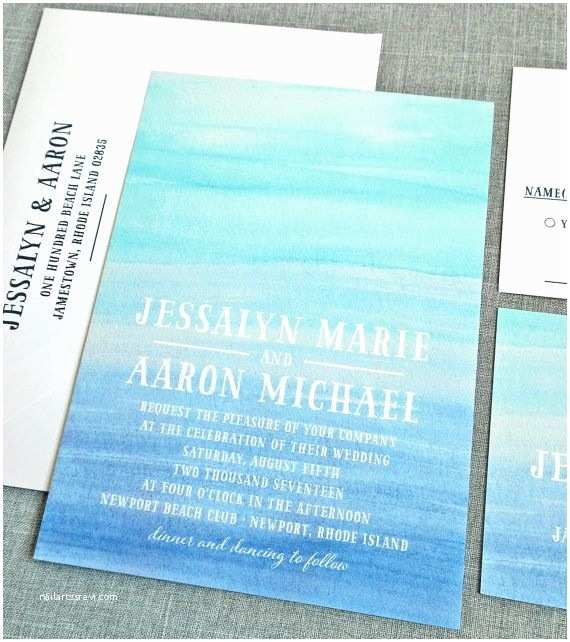 Ocean themed Wedding Invitations Best 25 Beach Wedding Invitations Ideas On Pinterest