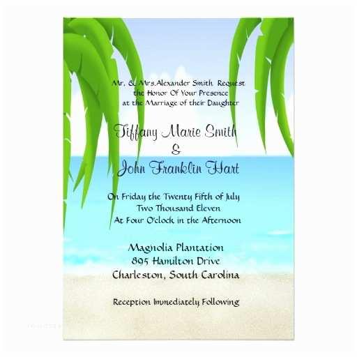 Ocean Wedding Invitations Beach Ocean Wedding Invitations