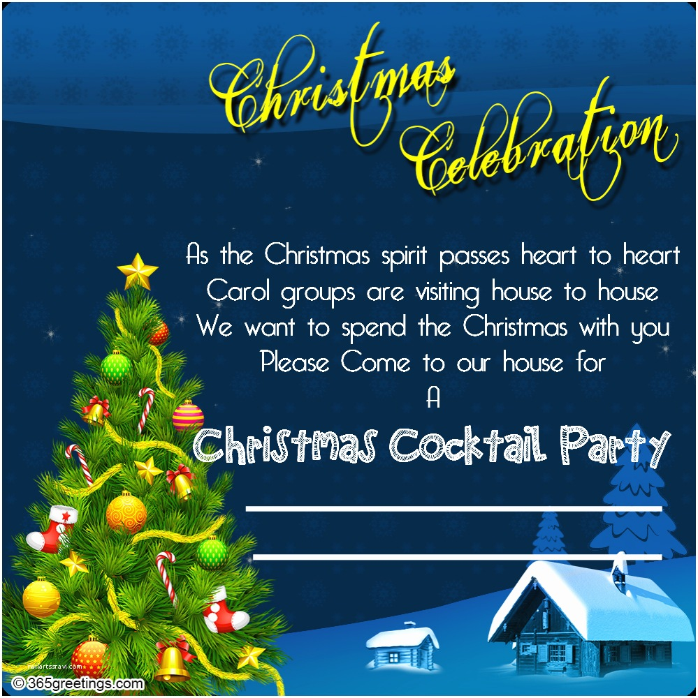 Office Christmas Party Invitation Wording Christmas Invitation Template and Wording Ideas