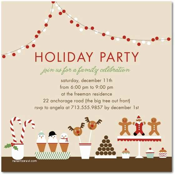 Office Christmas Party Invitation Wording Email Invitations