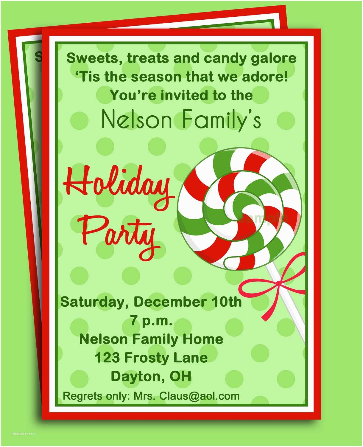 Office Christmas Party Invitation Wording Fice Potluck Clip Art 45