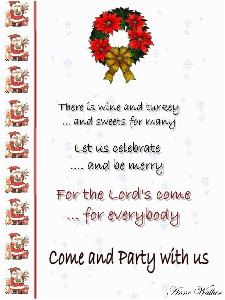 Office Holiday Party Invitation Wording Christmas Party Invitation