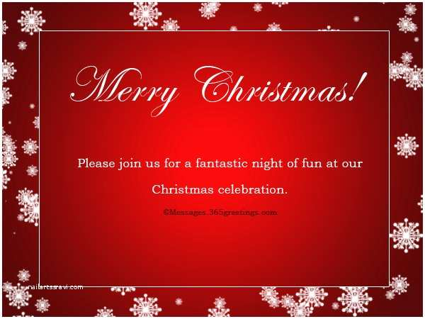 Office Holiday Party Invitation Wording Christmas Party Invitation Wording 365greetings
