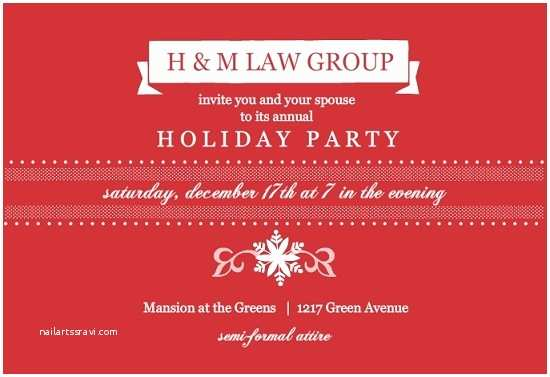 Office Holiday Party Invitation Wording Corporate Christmas Party Invitation Templates