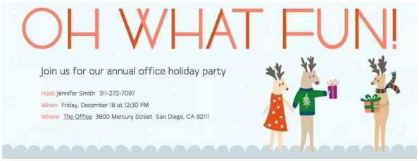 Office Holiday Party Invitations Host A Holly Jolly Celebration Holiday Fice Party Guide
