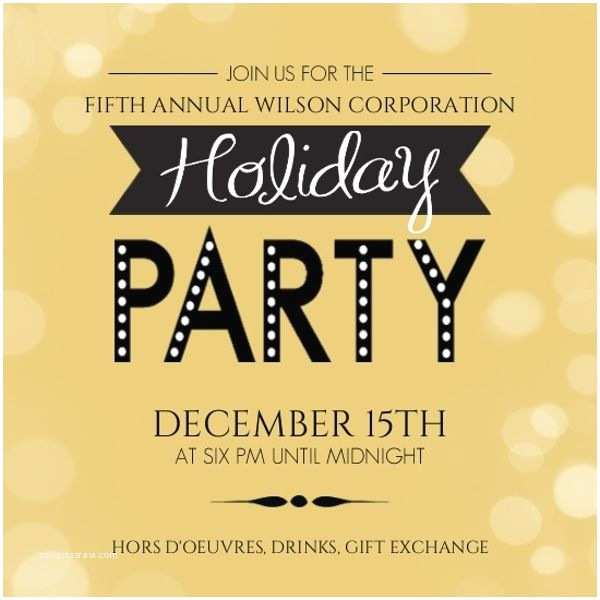 Office Party Invitation 18 Best Fice Christmas Party Invitation Wording & Ideas