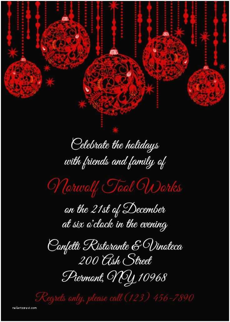 Office Party Invitation Email 17 Best Rscf Holiday Party Invitations Images On Pinterest