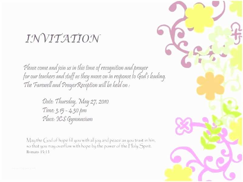 Office Party Invitation Email Dorable Farewell Party Invitation Email Adornment