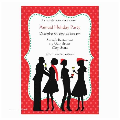 Office Party Invitation Email Holiday Fice Party Invitations