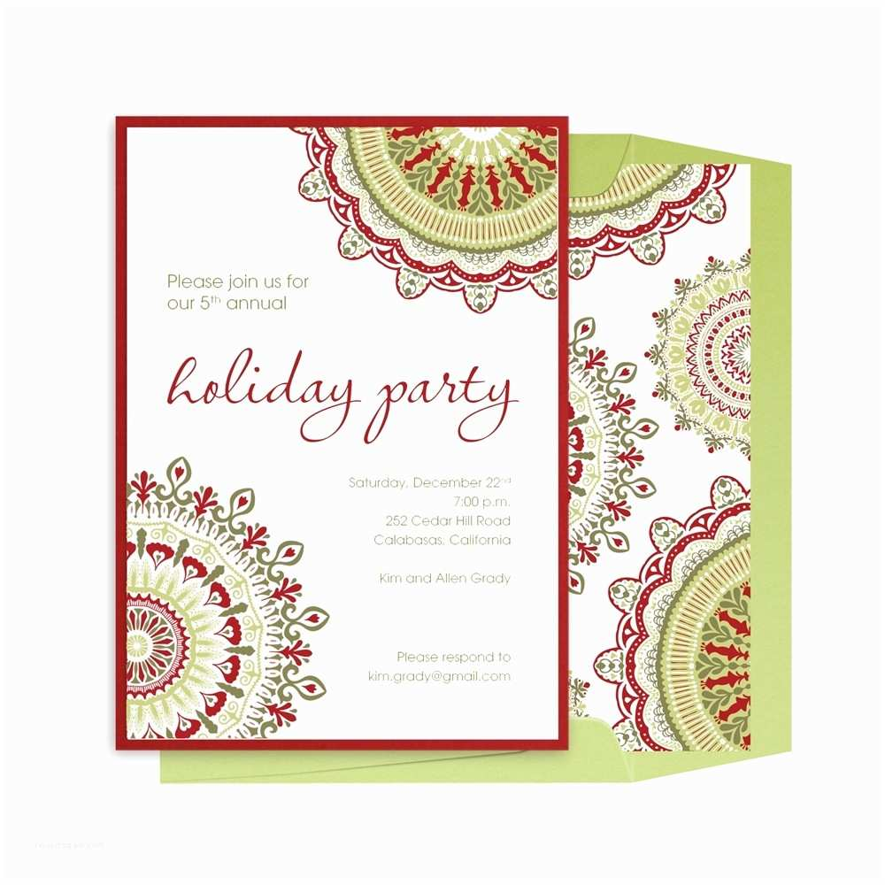 Office Party Invitation Email Pany Holiday Party Invitation Templates